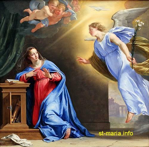 «هَا أَنَا أَمَةُ الرَّبِّ. لِيَكُنْ